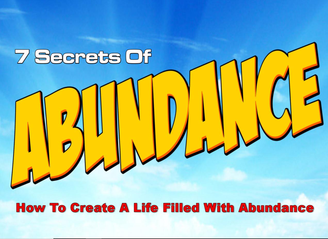 7 secrets of abundance
